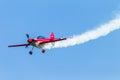 Plane Pilot Acrobatics Flying Royalty Free Stock Photo