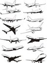 Plane set Royalty Free Stock Photography