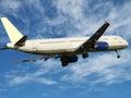 Plane taking off Royalty Free Stock Photos