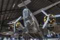 Planes at the usaf museum dayton ohio different air Royalty Free Stock Photo