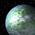 Planet Earth As Golf Ball, Clo...