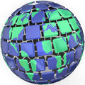 Planet Earth Globe Sytlized Abstract World Global Business Royalty Free Stock Photo