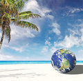 Planet Earth goes to Miami Florida Stock Photos
