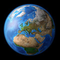 Planet Earth in high resolution Royalty Free Stock Photo