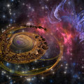 Planet Formation Royalty Free Stock Image