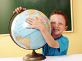 Planet kid. Stock Images
