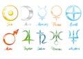 Planet symbols