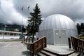 Planetarium  in  Cortina d Ampezzo Stock Image