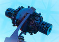 Planetarium star projector expensive inside a Royalty Free Stock Images
