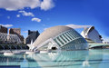 Planetarium  in Valencia Stock Photos
