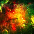 stock image of  Planets, stars and galaxies in outer space. Elements furnished by NASA