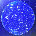 Planisphere Royalty Free Stock Images