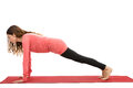 Plank pose Royalty Free Stock Photo