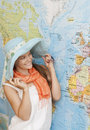 stock image of  Planning travel