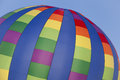 Plano balloon colorful patterns on hot air in texas Royalty Free Stock Photography