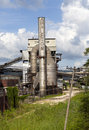 Plant on production of appleton rum on october in jamaica Royalty Free Stock Photo
