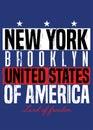 New york poster american pride colorful apparel distressed