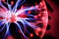 Plasma ball energy Royalty Free Stock Photo