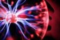 Plasma ball energy Royalty Free Stock Photo