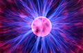 Plasma Sphere Royalty Free Stock Photo