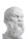 Picture : Plaster bust of sokrat trinity