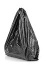 Plastic bag on white background Stock Photos