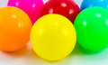 Plastic balls beautiful multi color Royalty Free Stock Photo