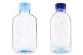Plastic bottle of Drop water Royalty Free Stock Photo