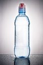 Plastic bottle of water drinking Royalty Free Stock Images