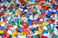 Plastic bottles for recycling Royalty Free Stock Photo