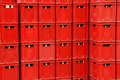 The plastic box Royalty Free Stock Photo