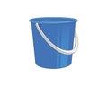 Plastic bucket Royalty Free Stock Photo