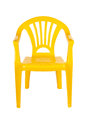 Plastic chair Stock Image