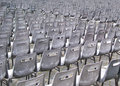 Plastic chairs Stock Photo