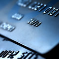 Plastic credit card Stock Photo
