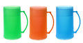 Plastic Cups Royalty Free Stock Photo