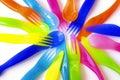 Plastic Cutlery Royalty Free Stock Photo