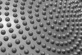Plastic dotted surface pattern. texture background