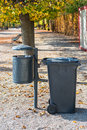 Plastic dust bin Royalty Free Stock Photography