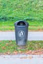 Plastic dust bin Royalty Free Stock Photo