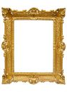 Plastic Golden Picture Frame W...