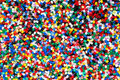 Plastic granules Stock Photos