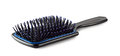 Plastic hair brush Royalty Free Stock Images