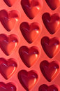 Plastic hearts Royalty Free Stock Photos