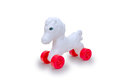 Plastic Horse Toy Royalty Free Stock Photo