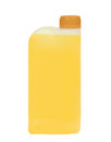 Plastic jerrycan isolated on white background Royalty Free Stock Photo