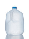 Plastic jug, recyclable and reusable bottle jug Royalty Free Stock Photo
