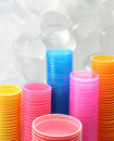 Plastic kop Stock Foto