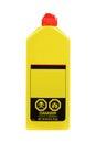 Plastic lighter fluid bottle Royalty Free Stock Photo