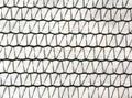 Plastic net fence surface